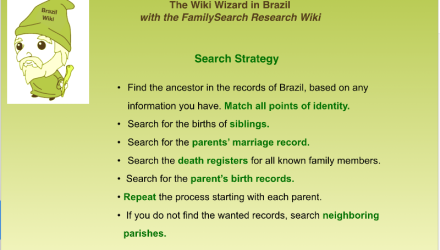 Brazil Research With the Wiki Part 8 of 8: Brazil Search Strategy: A Case Study