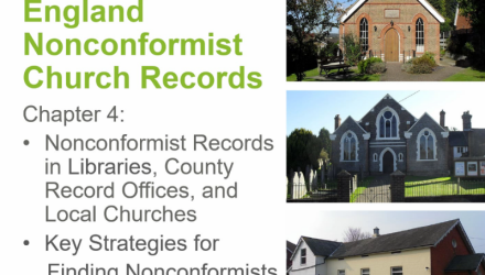 England Nonconformist Church Records: Archives and Strategies