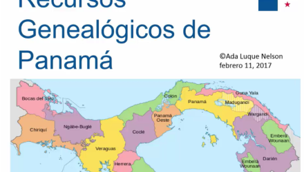 Recursos genealógicos de Panamá