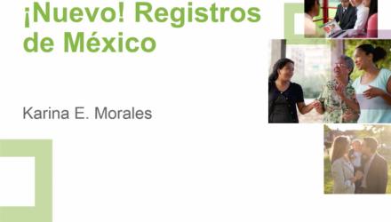 ¡Nuevo! Registros de México