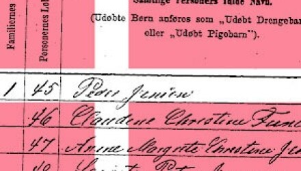 Danish Census Research Part 3: Extracting Genealogical Information