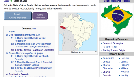 Brazil Research With the Wiki Part 5 of 8: Brazil Wiki State Pages