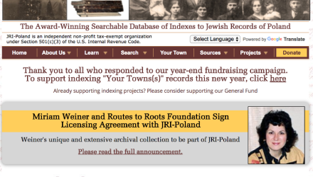 Poland Research With the Wiki Part 18 of 18:  Jewish Research in Poland