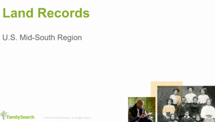 United States Research: Mid-South Region Land Records