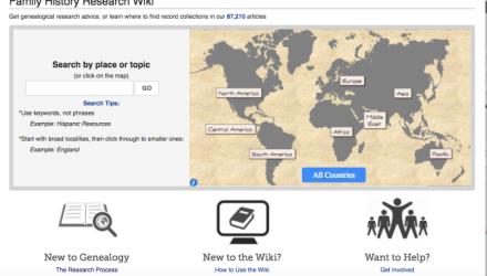 Wiki Help Part 1 of 6:  Wiki Genealogy by Locality