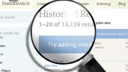 FamilySearch Tips