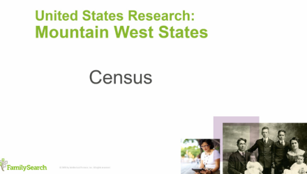 United States Research: Mountain West Region Census