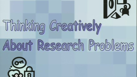 Thinking Creatively About Research Problems