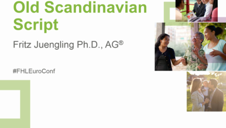 Scandinavian Handwriting