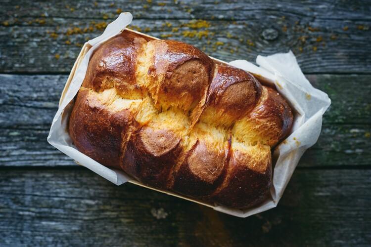 Brioche, a type of bread