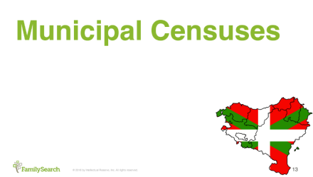 Finding Echeverria in Spain and France - Municipal Census