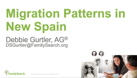 Migration Patterns in New Spain