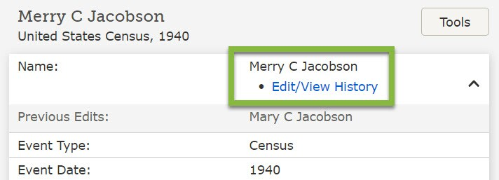 An example of the new edit indexed names feature.