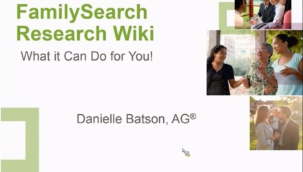 FamilySearch Research Wiki:  What It Can Do For You!